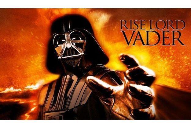 """Dark Vador, le célèbre méchant de """"Star Wars""""."""