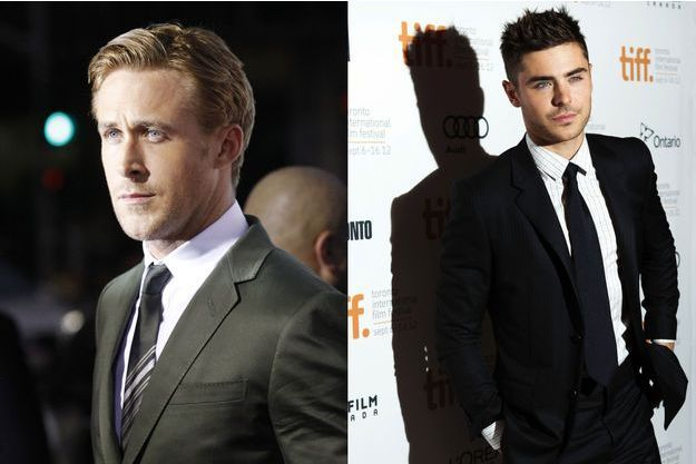Ryan Gosling et Zac Efron.