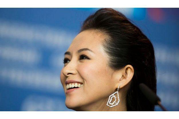 Zhang Ziyi lors du dernier Festival de Berlin.
