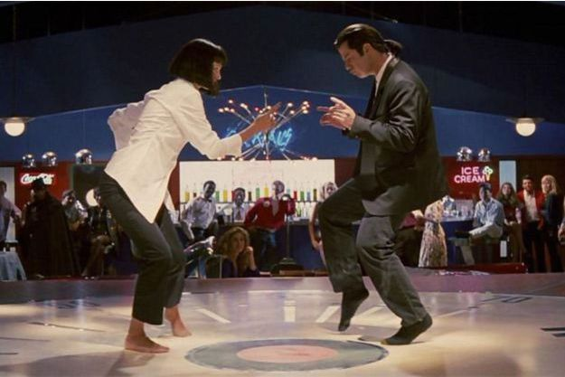 "La fameuse danse de ""Pulp Fiction"" sur le tube ""You Never Can Tell"" de Chuck Berry"