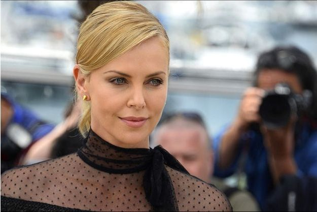 Charlize Theron pendant le photocall de Mad Max