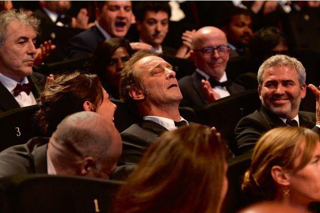 Dimanche 24 mai, au palais des Festivals, à Cannes, les frères Coen viennent d'annoncer le prix d'interprétation masculine.