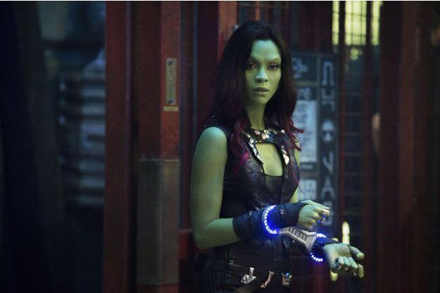 Zoe Saldana incarne Gamora dans «Les gardiens de la galaxie», de James Gunn.