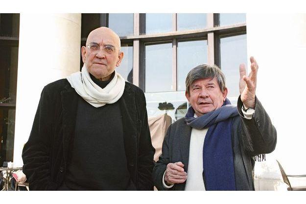 Max Gallo et Jean-Pierre Azéma.