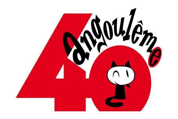 Le logo du 40e Festival international de la bande dessinée d'Angoulême.