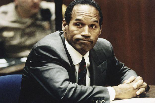 O.J. Simpson lors de son procès, en 1995.