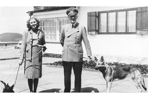 Hitler et Eva Braun.