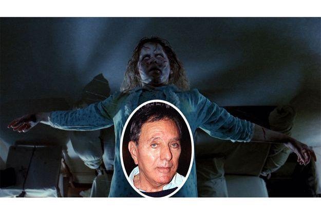 Linda Blair, possédée dans «L'Exorciste» et en médaillon l'auteur William Peter Blatty, en 1999.