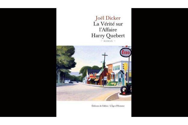 """La couverture de """"La Vérité sur l'affaire Harry Quebert"""""""