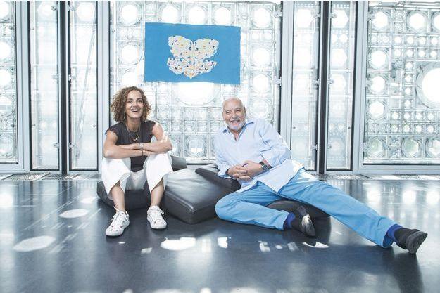 Leïla Slimani et Tahar Ben Jelloun
