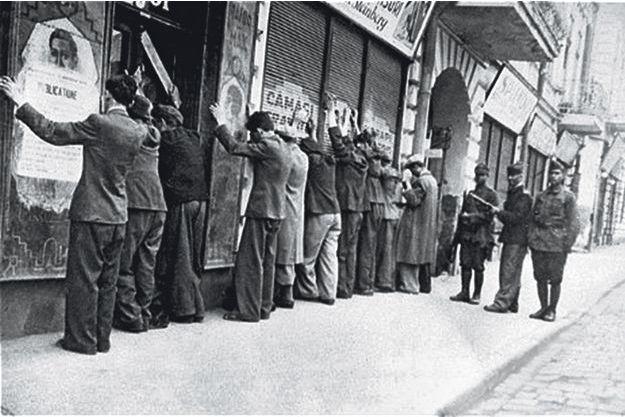 Arrestation à Jassy, en 1941.
