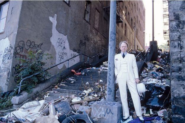 Tom Wolfe à New York en 1988.