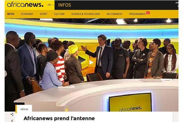 Capture d'écran Africanews