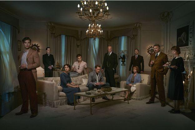 """Les dix protagonistes d'""""Agatha Christie : Dix petits nègres""""."""