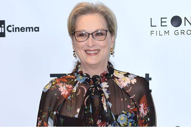 Meryl Streep, le 15 janvier, à Milan.