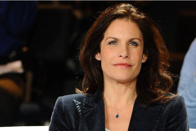 """Astrid Veillon lors des 40 ans """"Des chiffres et des lettres"""" - 2012."""