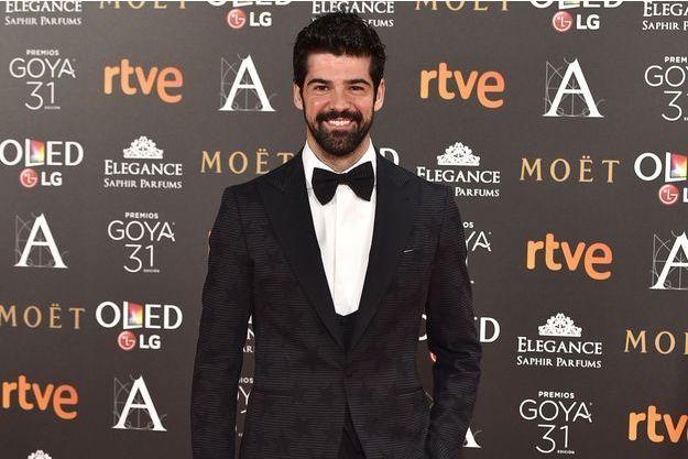 Miguel Angel Muñoz lors de la 31ème cérémonie des Goya Awards, en février 2017.