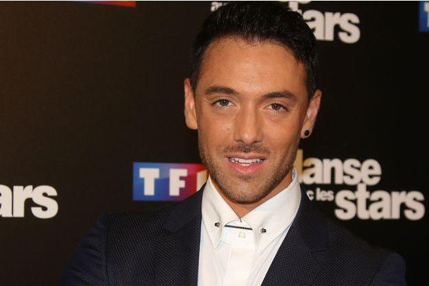"""Maxime Dereymez lors de la conférence de présentation de la saison 7 de """"Danse avec les stars"""" en septembre dernier."""