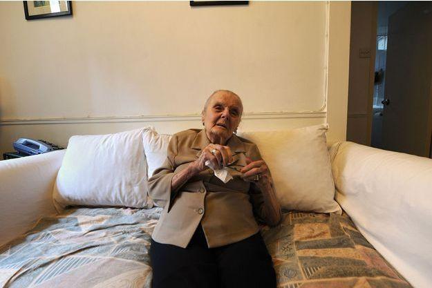 Clare Hollingworth avait 105 ans -ici photographiée en août 2009.
