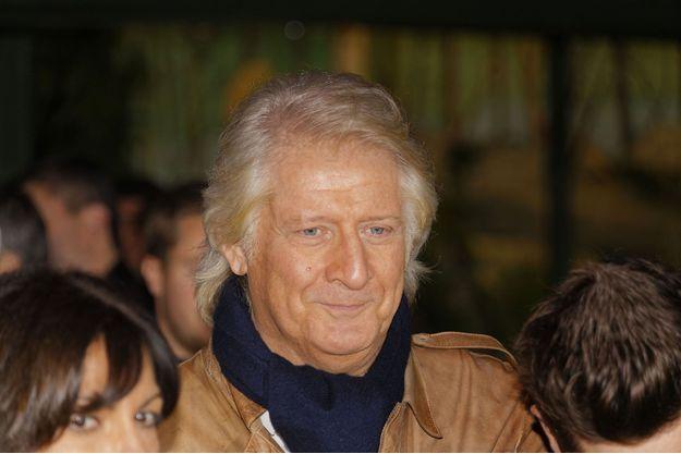 Patrick Sébastien sur les Champs-Elysées en novembre dernier.