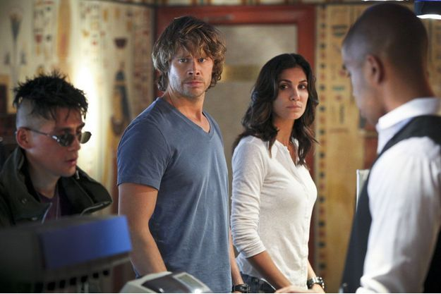 Eric Christian Olsen (Marty Deeks) et sa partenaire Daniela Ruah (Kensi Blye).
