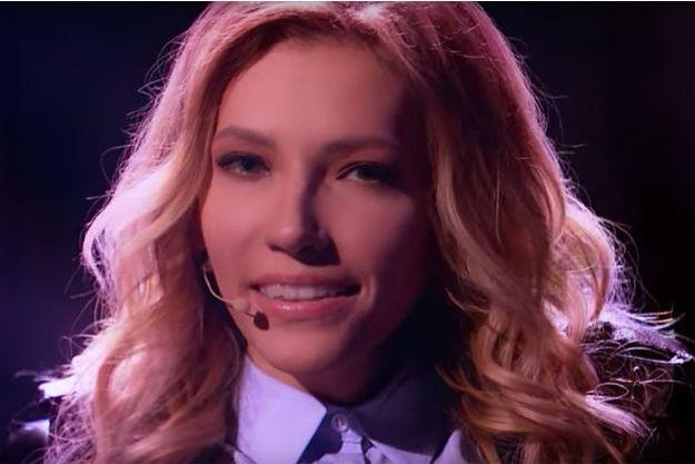 La candidate russe à l'Eurovision Ioulia Samoïlova.