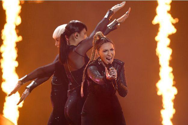 Eurovision: l'homme ayant montré ses fesses ne
