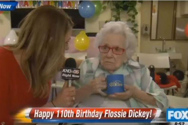La journaliste de Fox et Flossie Dickey.