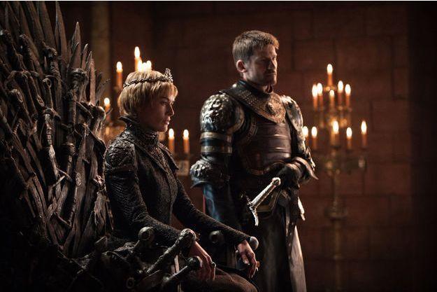 Lena Headey (Cersei Lannister) et Nikolaj Coster-Waldau (Jaime Lannister).