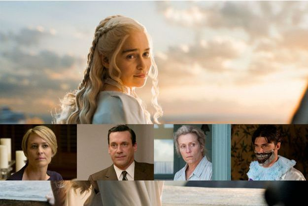 """Game of Thrones"", ""Mad Men"", ""American Horror Story"" et ""House of Cards"" font partie des séries les plus nommées."