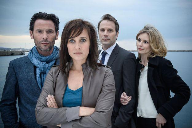 Sagamore Stevenin , Julie de Bona, Thomas Jouannet et Jeanne Bournaud.