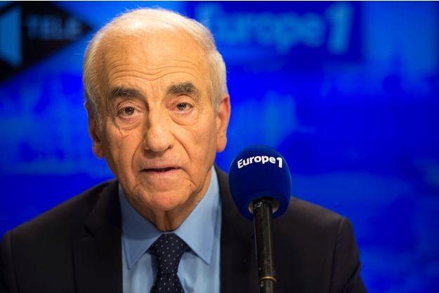 Jean-Pierre Elkabbach en octobre 2015.