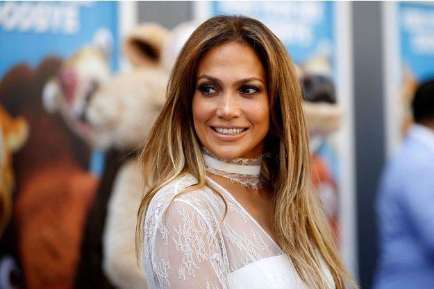 """Jennifer Lopez à la première de """"L'âge de glace : Les Lois de l'Univers"""" en juillet dernier."""