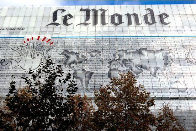 """Le siège du journal """"Le Monde"""", à Paris."""