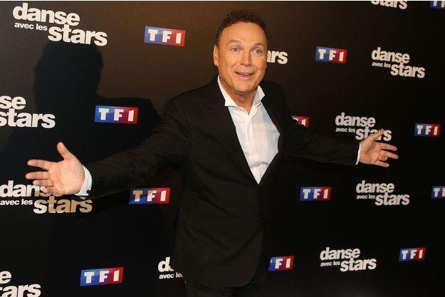 """Julien Lepers à la présentation de la saison 7 de """"Danse avec les stars"""" le 28 septembre dernier à Paris."""