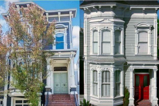 La maison achetée par Jeff Franklin et celle dans le générique de la série.