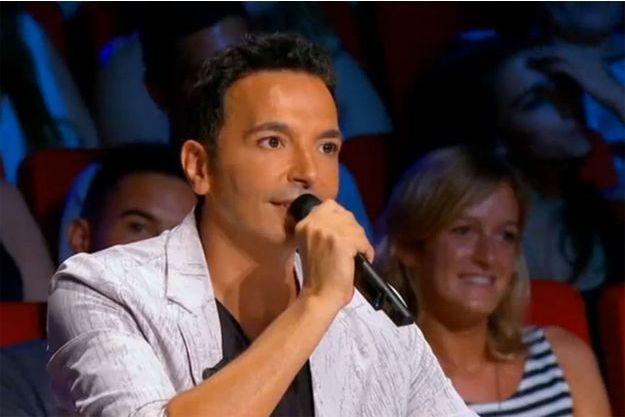 """Kamel Ouali sur le plateau de """"La France a un incroyable talent""""."""