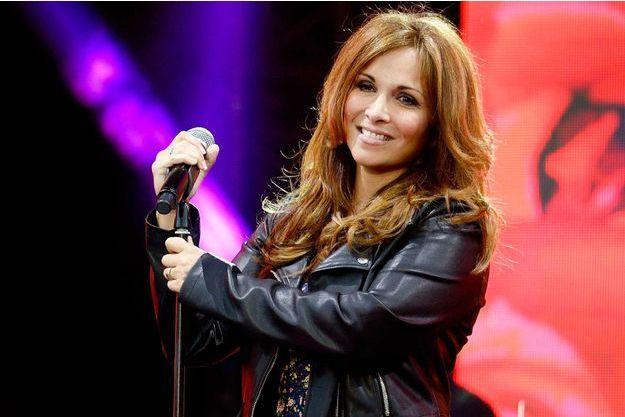 Hélène Ségara lors d'un concert le 6 juin dernier.