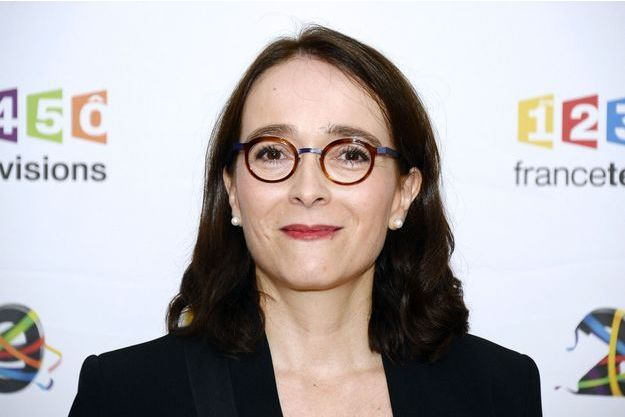 La présidente de France Télévisions Delphine Ernotte.