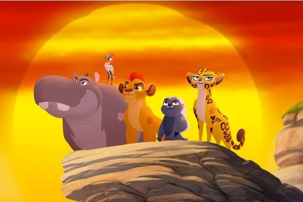Kion et ses amis ont pour mission de protéger la Terre des Lions.