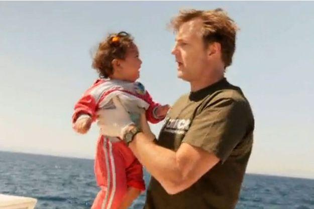 David Morrissey a été marqué par la mission de sauvetage au large de l'île de Lesbos.