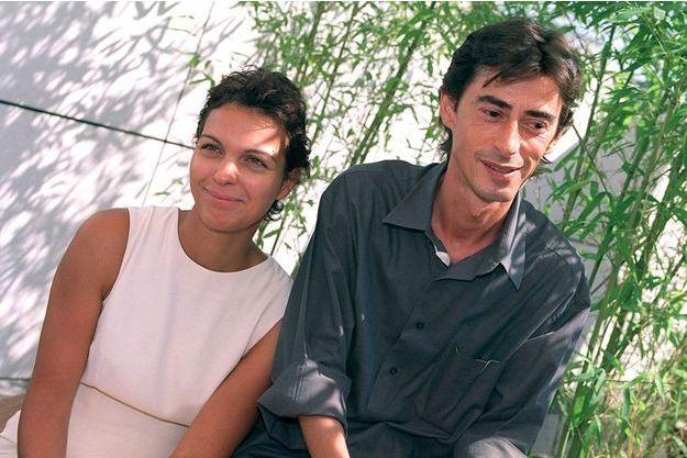 Philippe Vecchi aux côtés d'Isabelle Giordano en 2001.