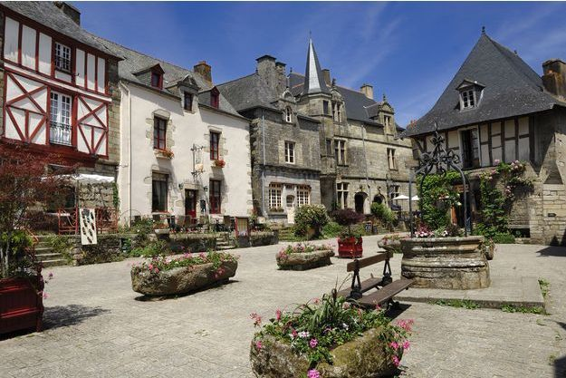 Le village breton de Rochefort-en-Terre.