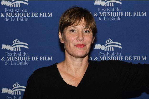 """Maïtena Biraben à l'ouverture du festival """"Cinéma & Musique de Film"""" de La Baule, en novembre 2016."""