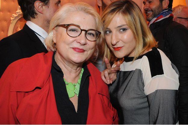 Josiane Balsko et Marilou Berry en juillet 2013.