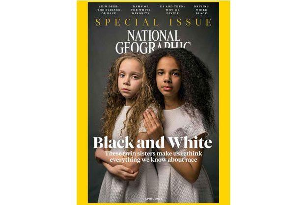"""Le numéro spécial de National Geographic dédié au concept de """"race""""."""