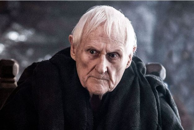 "Peter Vaughan dans ""Game of Thrones""."
