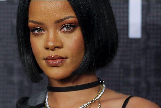 Rihanna lors de la Fashion Week de New York en février dernier.