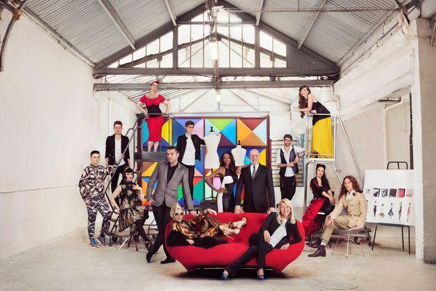 """L'équipe de l'émission """"Projet Fashion""""."""
