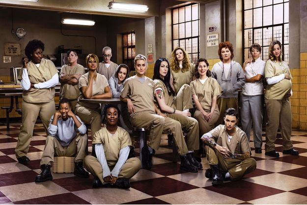 "Le casting d'""Orange is the new black""."